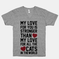 I Love You More Than All The Cats In The World | HUMAN