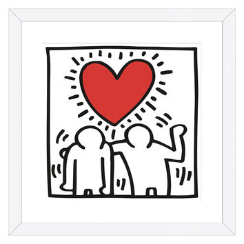KH03 by Keith Haring (Framed)