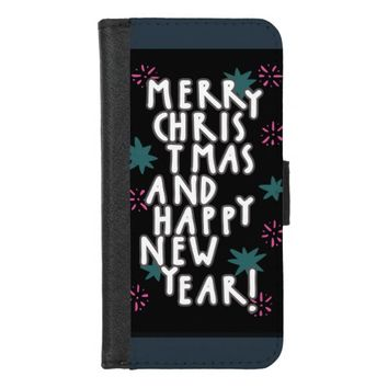Merry Christmas 2017 iPhone 8/7 Wallet Case
