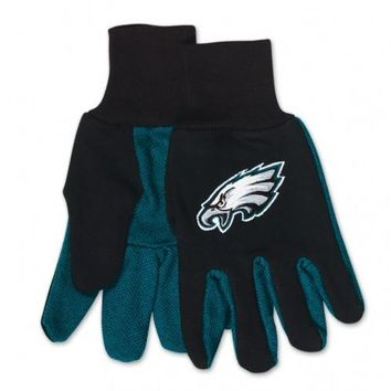 Philadelphia Eagles - Adult Two-Tone Sport Utility Gloves