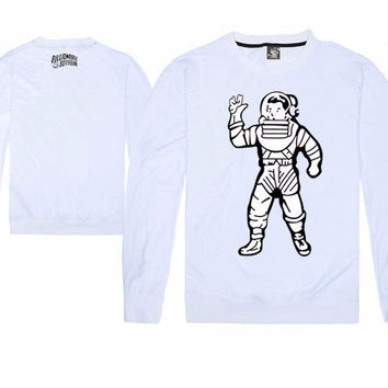 Billionaire Boys Club Front Panel Full Spaceman Long Sleeve Shirts