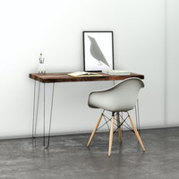 Ready to Ship Distressed Wood Desk or Table by UmbuzoRustic