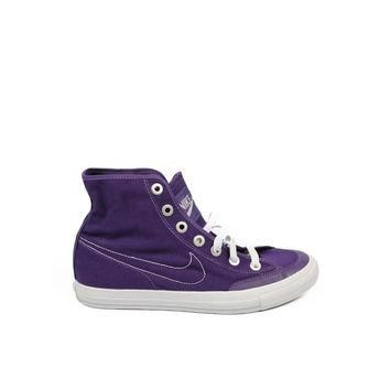 Purple 38 EUR - 7 US Nike ladies Sneakers Go Mid Cnvs 434498 500