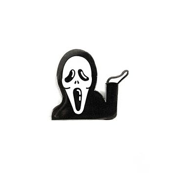 Whatever Ghostface Scream Pin