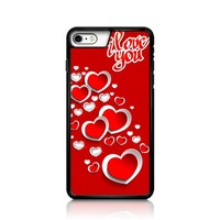 Sell I Love You Heart Sparkling Diamonds iPhone 6 Case