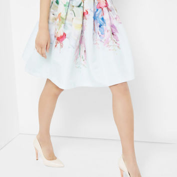 Hanging Garden full skirt - Mint | Skirts | Ted Baker UK
