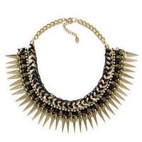 BLACK AND GOLDEN PLAITED NECKLACE - Accessories - Accessories - Woman - ZARA United States