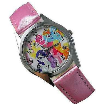 My Little Pony (s)  Pink Leather Watch...New..Great for Kids