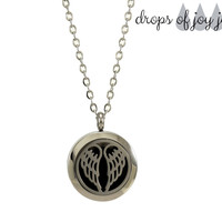 Diffuser Necklace - Angel Wings