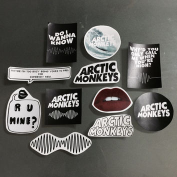 Arctic Monkeys AM Sticker Pack Set No. 1