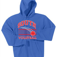 Williamsville South HS Volleyball Port & Company Mens - Ultimate Pullover Hooded Sweatshirt