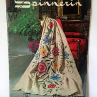 Vintage Knitting Pattern 1960s Spinnerin 168 Fashions In Living Crochet Afghans Bedspreads
