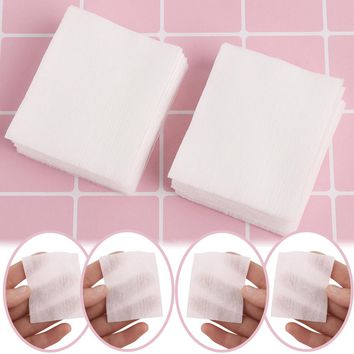 500PCs/Bag Professional Makeup Facial Organic Cotton Pads Nail Polish Remover Face Cleaning Cosmetic Beauty Skin Care Tools