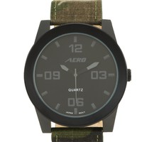 Camo Canvas Strap Watch