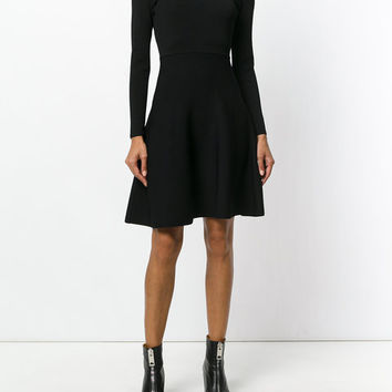 Fendi Flared Fitted Dress - Farfetch