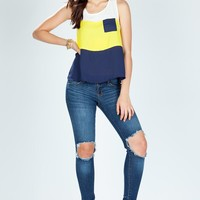 Gigi Colorblock Tank