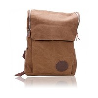 Canvas Shoulders Bag School Bag Backpack Travelling Hiking Camping
