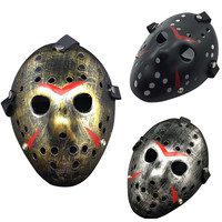 New Jason vs Friday The 13th Horror Hockey Cosplay Costume Halloween Killer Mask Free Shipping