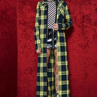 Band Of Misfits Flannel Duster
