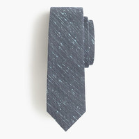 J.Crew Mens English Wool-Silk Tie In Speckled Paint