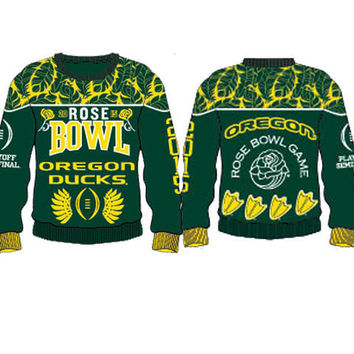 Oregon Ducks 2015 Official NCAA Rose Bowl Playoff Sweater