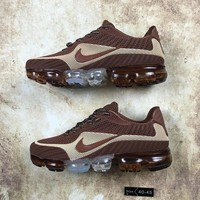 DCCK N075 Nike Air Vapormax Flyknit 2018 Breathable Sneaker Running Shoes Brown