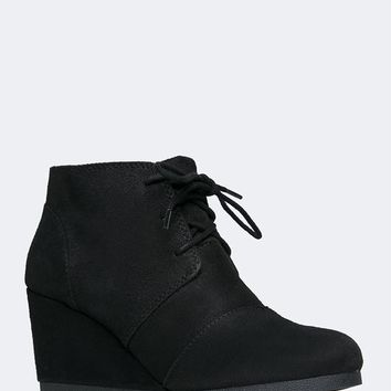 Roxy Lace up Ankle Bootie