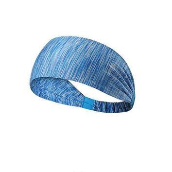 Women's Yoga Hair Band sports Headband Women men Cotton Knotted Turban Head Warp Hair  Free shipping