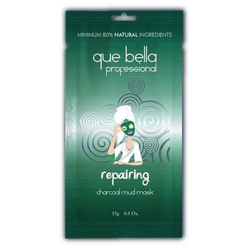 Que Bella Professional Charcoal Mud Mask 0.5 Oz