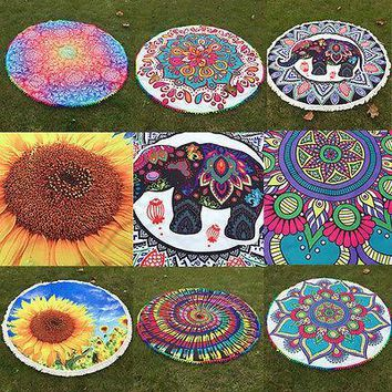 NEW 2017 Mandala Yoga/Beach Blankets