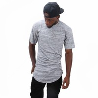 Extra Long Heather T-Shirt