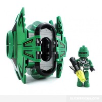 Drop Pod and Space Marine - Lego Compatible