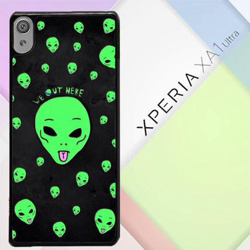 Alien We Out Here X4148 Sony Xperia XA1 Ultra Case