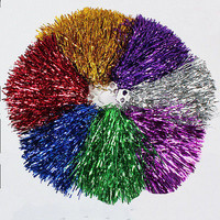 Hot! Catchy Party Fancy Dress Sport Svhool Cheerleader Pom Poms Flower Ball CBAU
