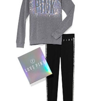Bling Crew and Legging Gift Set - PINK - Victoria's Secret