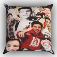 shawn mendes collage Y1146 Zippered Pillows  Covers 16x16, 18x18, 20x20 Inches