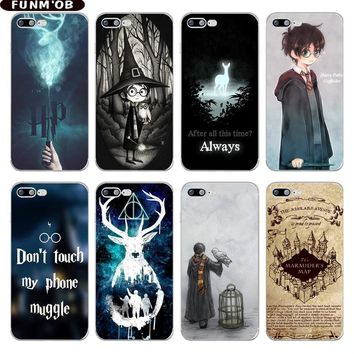 Harry Potter Hogwarts Pattern Design Soft Silicone TPU Phone Case Cover for iphone 6 6S 7 8 Plus 5S SE X Xs Max Xr Capinha Coque