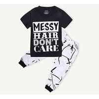 Baby Girls Clothing Sets O-Neck Shirts + Pants Set Clothes Girls Babies Caters Baby Clothing Sets