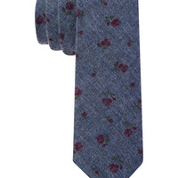 Tommy Hilfiger Fernando Flower Slim Tie - Semi-Annual Tailored Clearance - Men - Macy's