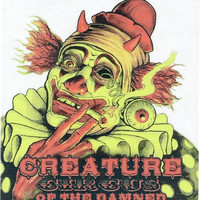 Creature Circus Of The Damned Decal 3.5 x3.875