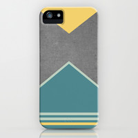 Concrete & Triangles III iPhone & iPod Case by no.216