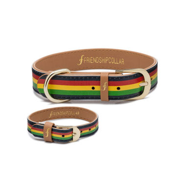 The Rasta Pup FriendshipCollar