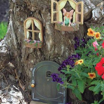 FAIRY WINDOWS (SET OF 2) - Fairy Windows for Tree
