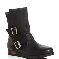 SorelMajor Moto Double Buckle Booties