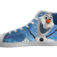 Frozen Olaf Custom Hi Top Personalized High Top Shoes