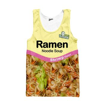 Ramen Shrimp Tank top
