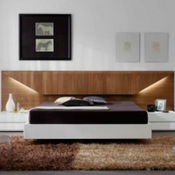 Composition 502 Platform Bed by ESF Furniture - Opulentitems.com