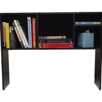 The College Cube - Dorm Desk Bookshelf - Black