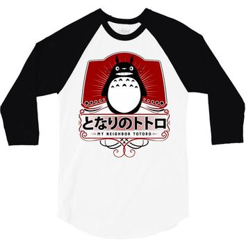 My Neighbor Totoro 3/4 Sleeve Shirt