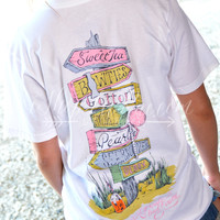 Lauren James All Roads Lead South Tee
